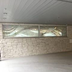 k鷺宮玄関脇